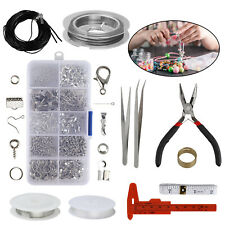 Jewelry Findings Tools Set Open Jump Rings Lobster Clasp Jewelry Making Kit