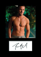 RYAN GOSLING #2 A5 Signed Mounted Photo Print - FREE DELIVERY