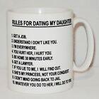 Règles Pour Dating My Daughter Tasse Peut Personnalisé Papa Fête Des Pères