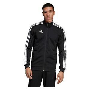 Adidas Mens Tracksuit Top Tiro 19 Training Black Jacket Full zip Medium Large