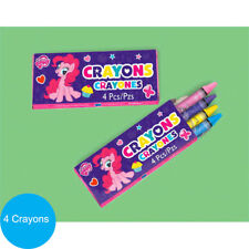 My Little Pony Party Supplies Favours CRAYONS BOX Genuine Licensed
