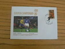 Italy v. Sweden, 2000 Football European Championship Commemorative Cover