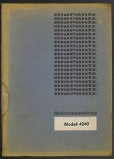 Marantz Modèle 4240 Original Stéréo Récepteur Mode D 'em Ploi / Manuelle