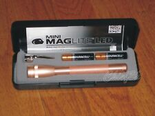 Maglite AAA 2 Cell LED ROSE GOLD Collectible maglight LED 100 LUMENS NEW COLOR!