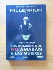 DVD MILLENNIUM 1 - EDICION ESPECIAL METALICA 2 DVD - LOS HOMBRES QUE NO AMABAN A