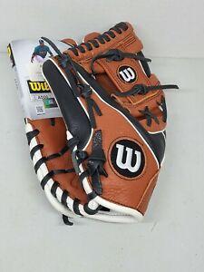 "Wilson A500 Baseball Glove 11.5"" Boys LHT - Brand New"