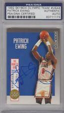 Patrick Ewing USA DREAM TEAM Signed AUTOGRAPH 1992 SkyBox Olympic Team PSA DNA
