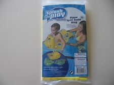 Splash and Play: Inflatable Hippo Split Swim Ring, Brand New Sealed,ages 3-6