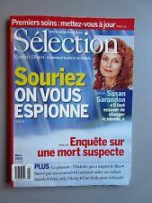 "Selection Reader's Digest Magazine Mars 2003 ""Souriez on vous Espione, Sarandon"