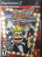 BUZZ!: THE HOLLYWOOD QUIZ (PlayStation 2 PS2) Disc Only