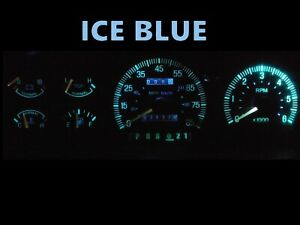 Gauge Cluster LED Dash kit Ice Blue For Ford  87 91 Bronco F150 F250 F350 Truck