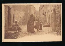 North Africa ALGERIA Bou Saada Rue Mouamines Street scene c1900/20s? PPC