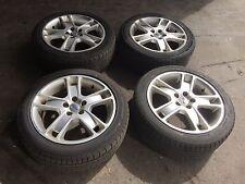 VOLVO C30  4 X ALLOY WHEEL MAGS, 17 inch rims, 205-50-17 TYRES , S40,V50,C70