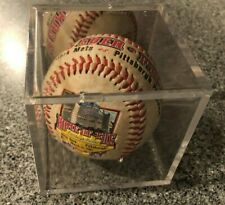 PNC Park First Game Ever Commemorative Baseball in Case Pittsburgh Pirates 2001
