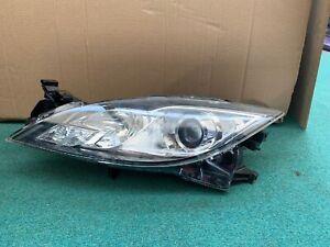 Mazda 6 2.2 Diesel 07-11 Front Headlight Passenger Side Halogen Genuine Oem