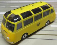 für H0 Slotcar Racing Modellbahn --  Setra Post Bus mit T-Jetmotor
