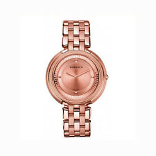 Versace Thea With Rose Gold IP Watch With Bracelet *New