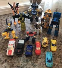 Transformers Lot Of 15 Hasbro Takara Cars Semi Plane Early 2000?s