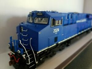 Scale Trains GE tier 4 GEVO DEMO ET44AC GECX 2024 Rivet counter.