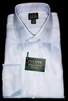 """Joseph A Bank Signature Collection Blue Dress Shirt 17""""-34"""" Hard To Find Quality"""