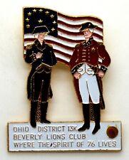 Spilla Lions International Ohio District 13K Beverly Lions Club Where The Spirit