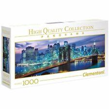 Clementoni NEW YORK BROOKLYN BRIDGE Skyline Jigsaw PANORAMA PUZZLE 1000 pieces