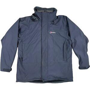 Berghaus Gore-Tex Women's Jacket Waterproof Coat With Mid Layer Size 14 UK