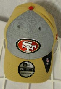 New Era 39 Thirty San Francisco SF 49ers Official NFL Hat Cap Medium-Large