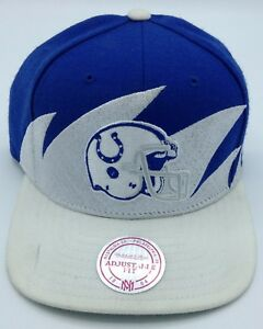 NFL Indianapolis Colts Mitchell & Ness Vintage Adult M&N Cap NEW SEE DESCRIPTION