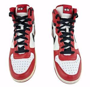 Jordan 1 Nike Spike Lee Mars Chicago Bulls White Red Shoes Mens High Top US 11