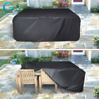 Garden Patio Outdoor Furniture Cover Chair Table Covers Rectangular Waterproof