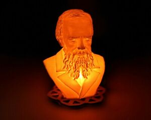 Dostoevsky Bust - 3D Printed Accent Lamp