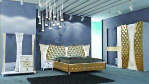 Italian luxurious Versace style Full bedroom