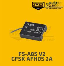 Flysky FS-A8S V2 Metal Gehäuse Empfänger 2,4G PPM i-BUS Receiver AFHDS 2A TX RX