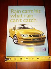 2004 SAAB 9-3 CONVERTIBLE - ORIGINAL AD