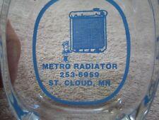 VINTAGE METRO RADIATOR ST. CLOUD, MINNESOTA ASHTRAY