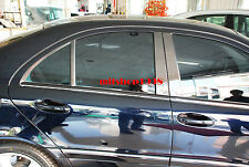 Mercedes-BENZ C-Class W203 Carbon Pillar Panel Covers