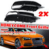 Front Lower Bumper Fog Light Cover Grill Grille For AUDI A3 S3 S-Line