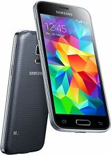 Samsung Galaxy S5 MINI SM-G800F 16GB Charcoal Black Schwarz Android Smartphone