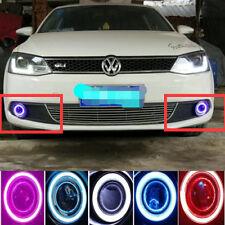 2x LED Daytime Fog Lights Projector angel eye kit For Volkswagen Jetta MK6 2011
