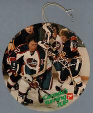 "1980-81 7-UP Store Display Mobile, Winnipeg Jets' Morris Lukowich  7"" Disc"