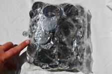 7949e LOT of FIFTY/50 RARE 1n100 BLACK Ammonite PAIR Crystal FOSSIL MEDIUM 4-5cm