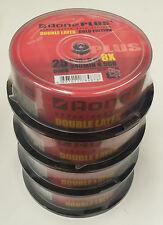 100 Tub Aone Dual Layer DVD+R Non Printable Logo 8x 8.5g DVD 9 DL Discs Blank