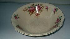 VINTAGE J & G Meakin FRUTTA/DESSERT SERVING Bowl Sunshine SERIE ROSE ROSA SCURO