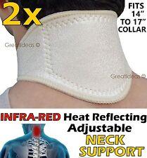 NECK SUPPORT BRACE Infra-Red Ceramic Pain Ache Sprain Muscle Tendon Arthiritis