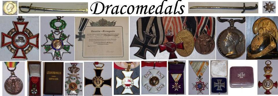 Dracomedals Militaria