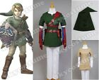 The Legend of Zelda Twilight Princess Link Outfit Cosplay Costume Outfit FullSet