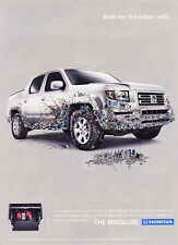 2007 Honda Ridgeline Truck - Lockable - Classic Vintage Advertisement Ad D90