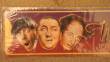 THE THREE STOOGES BOULEVARD METAL TIN SIGN