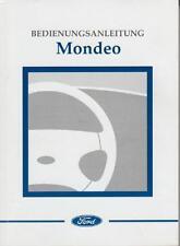 FORD MONDEO  Betriebsanleitung 1998 Bedienungsanleitung Handbuch Bordbuch  BA